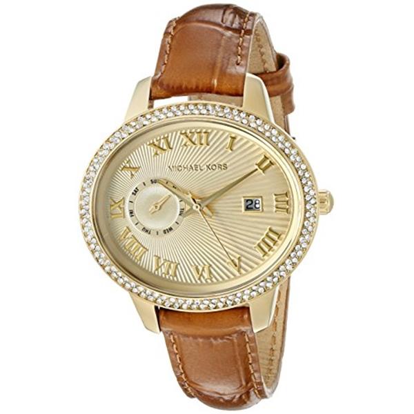 マイケルコース Michael Kors レディース 腕時計 時計 Michael Kors Women's Whitley Brown Watch MK2428