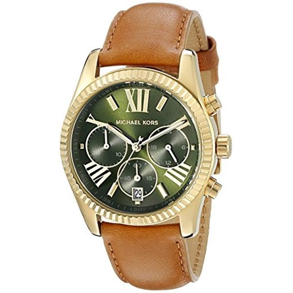 マイケルコース Michael Kors レディース 腕時計 時計 Michael Kors Women's Lexington Brown Watch MK2431