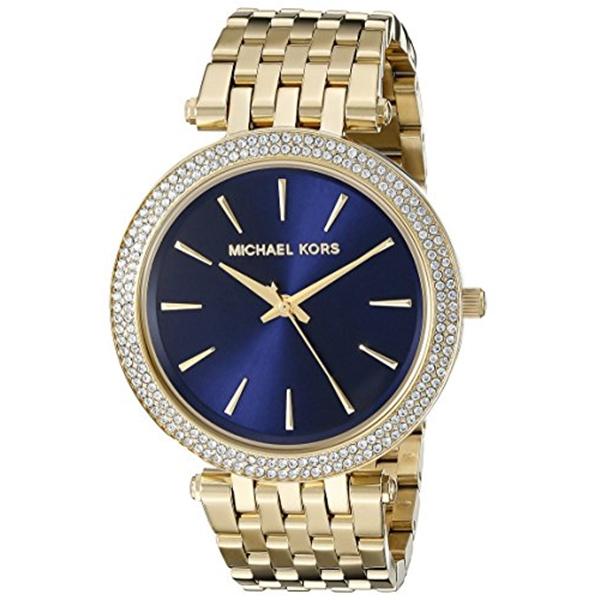 マイケルコース Michael Kors レディース 腕時計 時計 Michael Kors Women's Darci Gold-Tone Watch MK3406