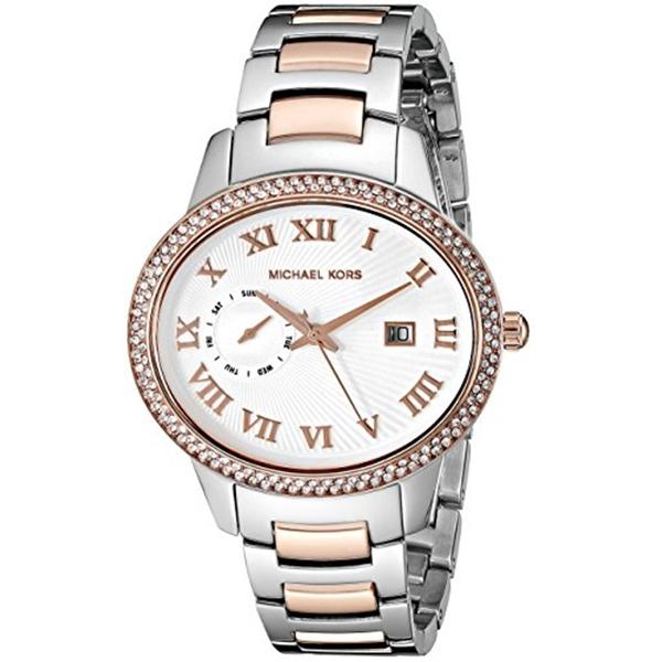 マイケルコース Michael Kors レディース 腕時計 時計 Michael Kors Women's Whitley Two-Tone Watch MK6228