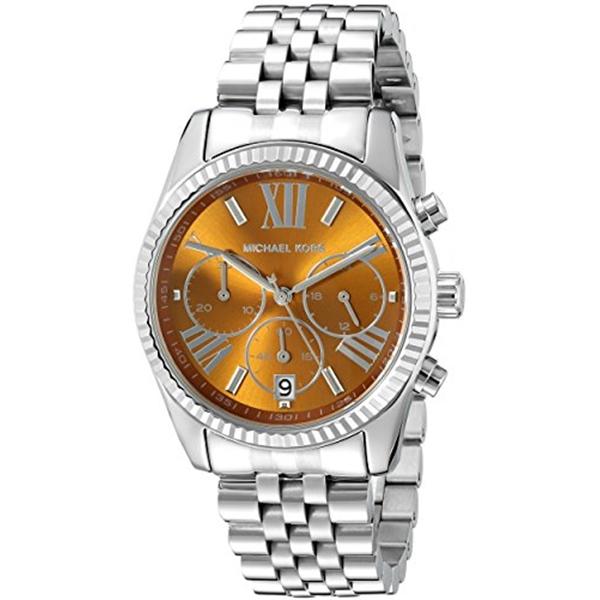 マイケルコース Michael Kors レディース 腕時計 時計 Michael Kors Women's Lexington Silver-Tone Watch MK6221