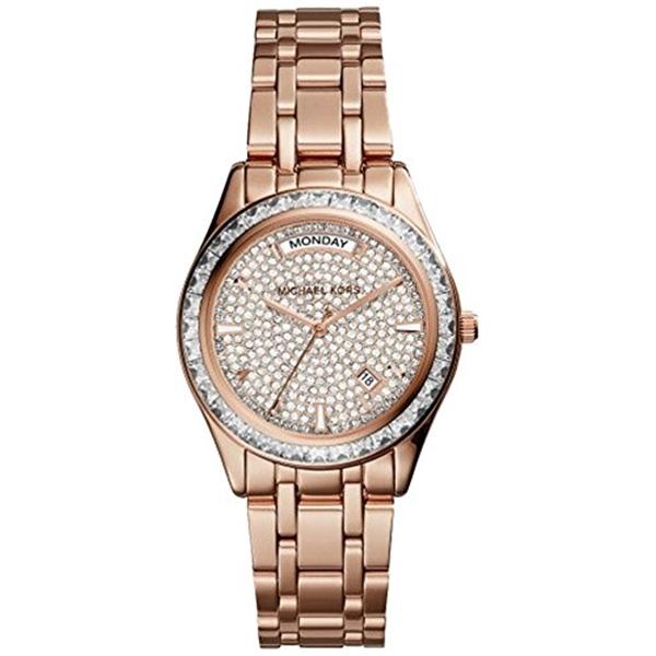 マイケルコース Michael Kors レディース 腕時計 時計 Michael Kors Women's Kiley MK6146 Rose Gold Stainless-Steel Quartz Watch