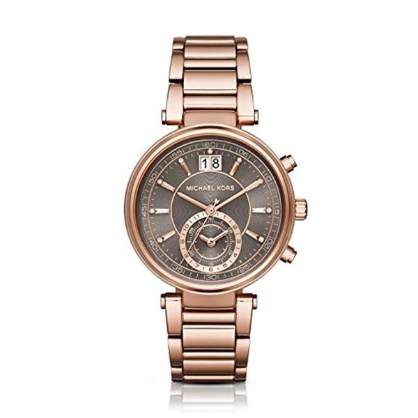 マイケルコース Michael Kors レディース 腕時計 時計 Michael Kors Women's Sawyer Rose Gold-Tone Watch MK6226