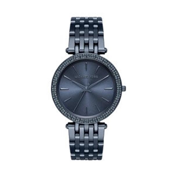 マイケルコース Michael Kors レディース 腕時計 時計 Michael Kors Women's Darci Blue Watch MK3417
