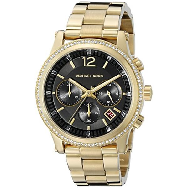 マイケルコース Michael Kors レディース 腕時計 時計 Michael Kors Women's Heidi Gold-Tone Watch MK6063