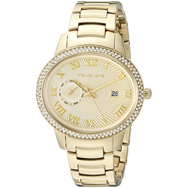 マイケルコース Michael Kors レディース 腕時計 時計 Michael Kors Women's Whitley Gold-Tone Watch MK6227