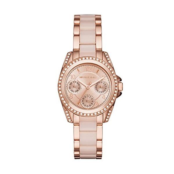 """マイケルコース Michael Kors レディース 腕時計 時計 Michael Kors Women""""s Mini Blair Rose Gold-Tone Watch MK6175"""