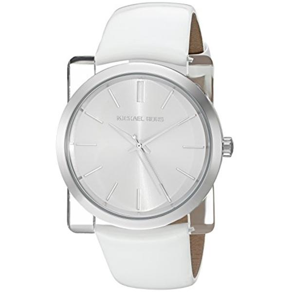 マイケルコース Michael Kors レディース 腕時計 時計 Michael Kors Women's Kempton White Watch MK2482
