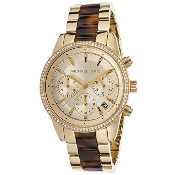 マイケルコース Michael Kors レディース 腕時計 時計 Michael Kors Women's Ritz Gold-Tone Watch MK6322