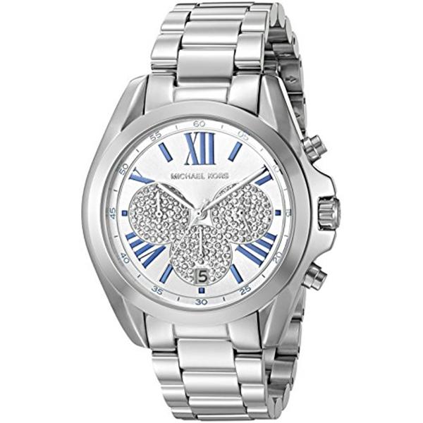 マイケルコース Michael Kors レディース 腕時計 時計 Michael Kors Women's Bradshaw Silver-Tone Watch MK6320