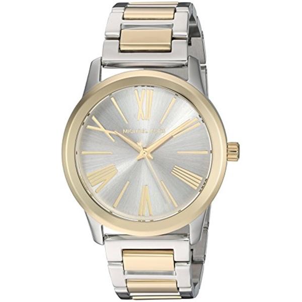 マイケルコース Michael Kors レディース 腕時計 時計 Michael Kors Women's Hartman Silver-Tone Watch MK3521