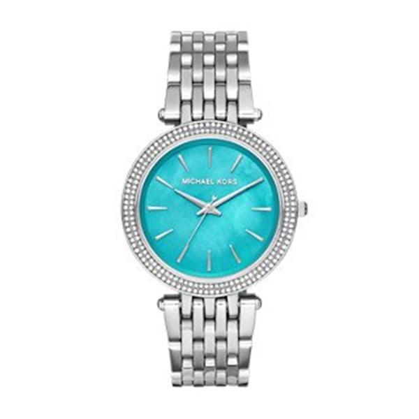 マイケルコース Michael Kors レディース 腕時計 時計 Michael Kors Women's Darci Silver-Tone Watch MK3515