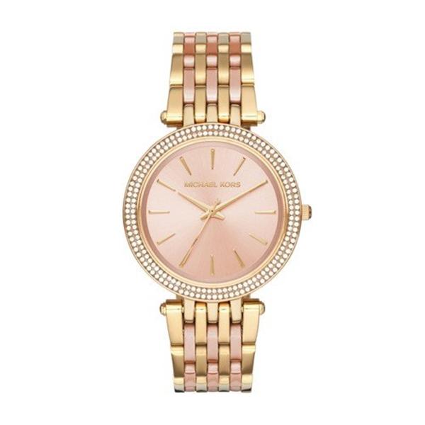 マイケルコース Michael Kors レディース 腕時計 時計 Michael Kors Women's Darci Gold-Tone Watch MK3507