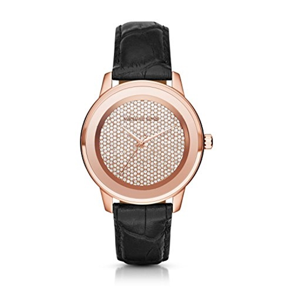 マイケルコース Michael Kors レディース 腕時計 時計 Michael Kors Kinley Crystal Pave Dial Ladies Casual Watch MK2456