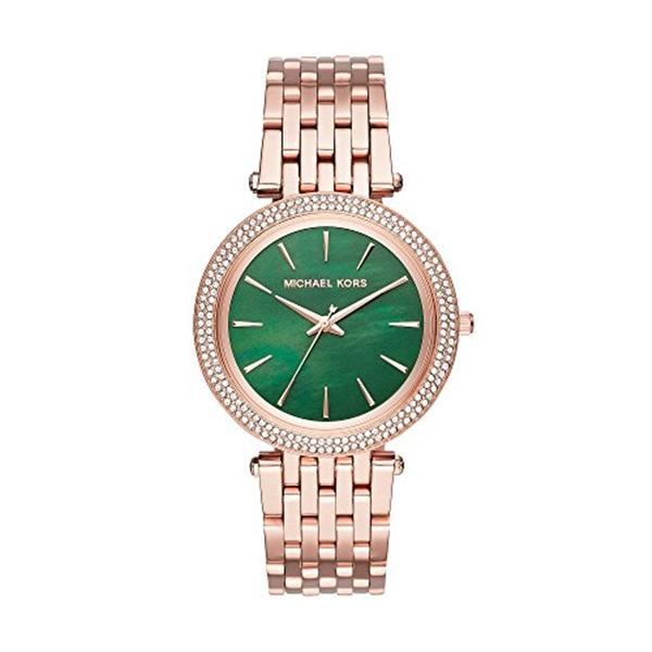マイケルコース Michael Kors レディース 腕時計 時計 Michael Kors Women's Darci Rose Gold-Tone Watch MK3552