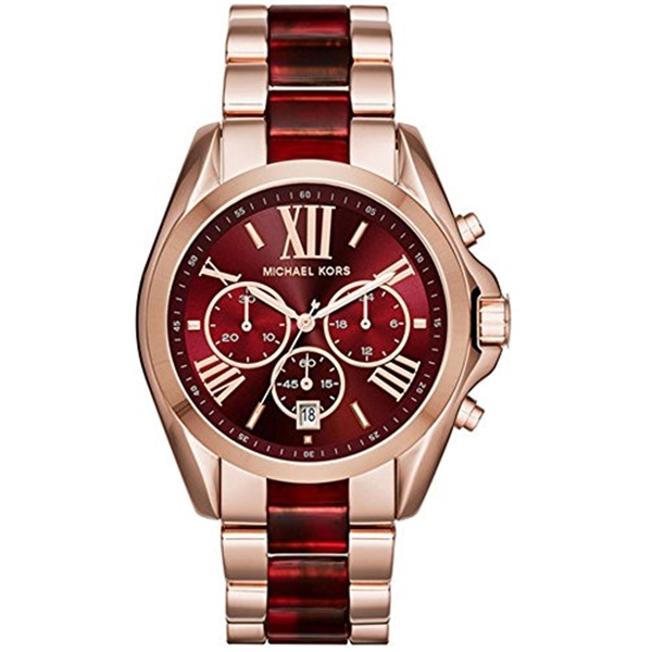 マイケルコース Michael Kors レディース 腕時計 時計 Michael Kors MK6270 Bradshaw Two Tone Women's Watch