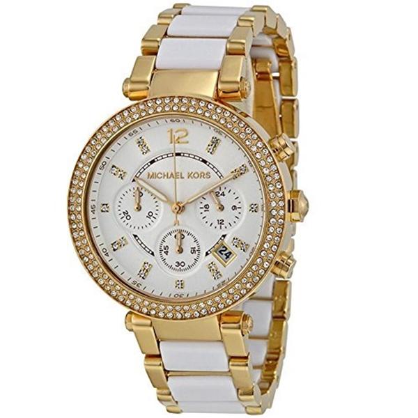 マイケルコース Michael Kors レディース 腕時計 時計 Michael Kors Ladies Parker Chronograph Analog Sport Quartz Watch (Imported) MK6119