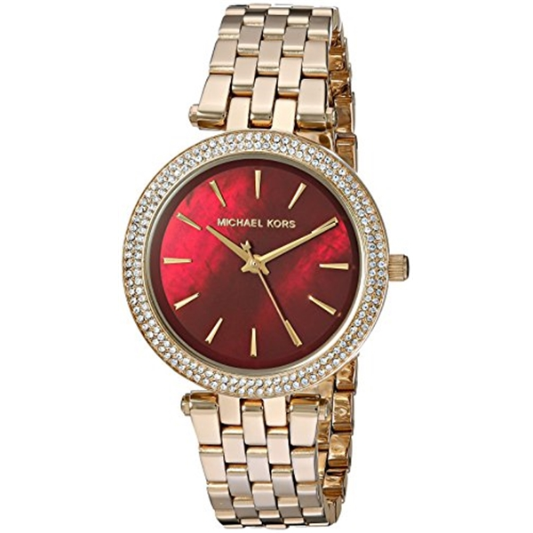 マイケルコース Michael Kors レディース 腕時計 時計 Michael Kors Women's Mini Darci Gold-Tone Watch MK3583