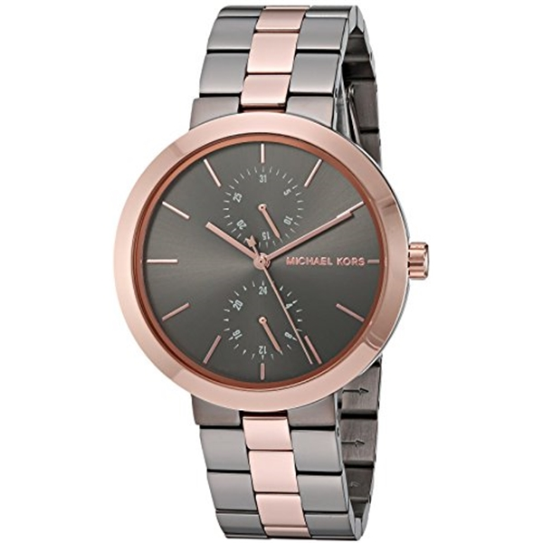 マイケルコース Michael Kors レディース 腕時計 時計 Michael Kors Women's Garner Grey Rose Gold Watch MK6431