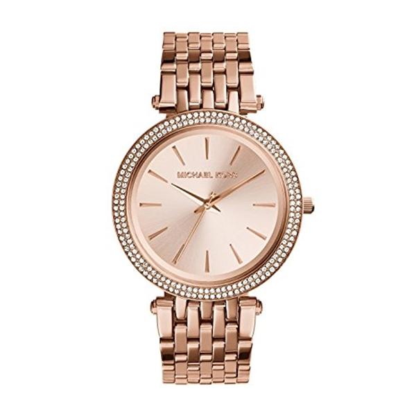 マイケルコース Michael Kors レディース 腕時計 時計 Women's Rose gold-Tone Stainless Steel Watch MK3192