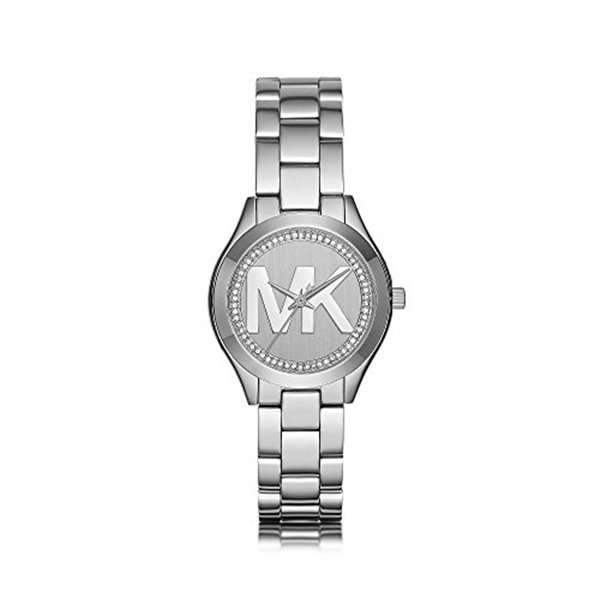 マイケルコース Michael Kors レディース 腕時計 時計 Michael Kors Mini Slim Runway Stainless Steel Three Hand Watch