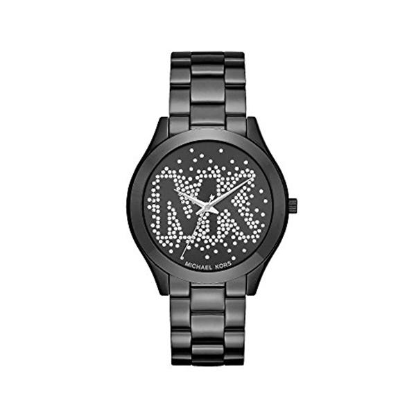 マイケルコース Michael Kors レディース 腕時計 時計 Michael Kors Slim Runway IP Three Hand Watch