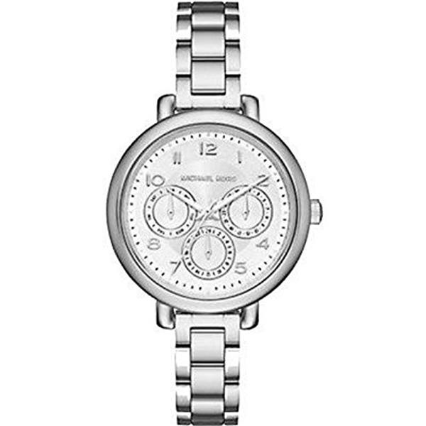 マイケルコース Michael Kors レディース 腕時計 時計 Michael Kors Kohen Silver-Tone Watch
