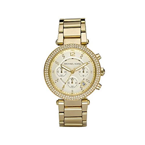 マイケルコース Michael Kors レディース 腕時計 時計 Michael Kors Goldtone Parker Watch