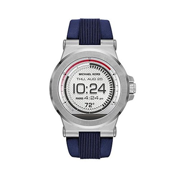 マイケルコース Michael Kors レディース 腕時計 時計 Michael Kors Access 46mm Men's Silvertone Touchscreen Smartwatch