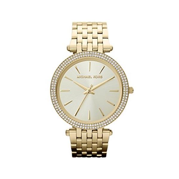 マイケルコース Michael Kors レディース 腕時計 時計 Michael Kors Darci Goldtone Watch
