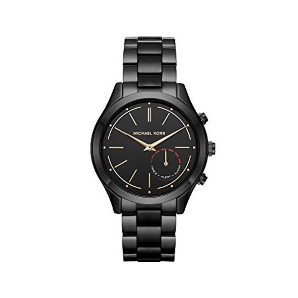マイケルコース Michael Kors レディース 腕時計 時計 Michael Kors Slim Runway IP Hybrid Smartwatch