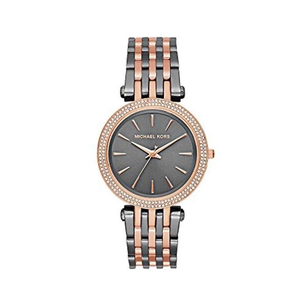 マイケルコース Michael Kors レディース 腕時計 時計 Michael Kors Darci Two Tone Three Hand Watch