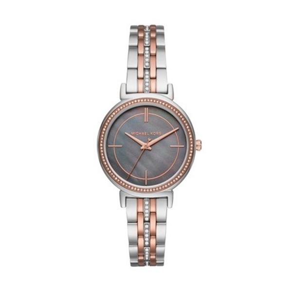 マイケルコース Michael Kors レディース 腕時計 時計 Michael Kors Women's Cinthia Silver- Tone Watch MK3642