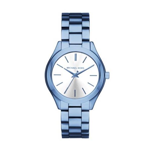 マイケルコース Michael Kors レディース 腕時計 時計 Michael Kors Women's Quartz Stainless Steel Casual Watch, Color:Blue (Model: MK3674)