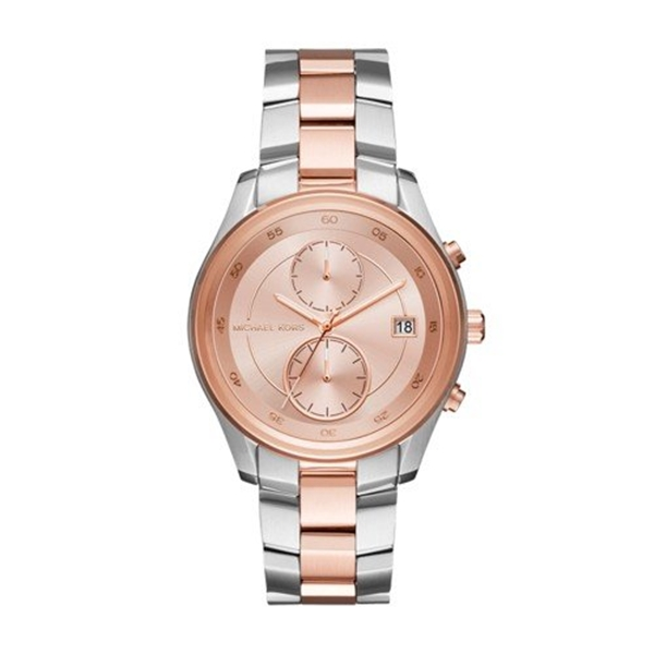 マイケルコース Michael Kors レディース 腕時計 時計 Michael Kors Women's Quartz Stainless Steel Casual Watch, Color:Silver-Toned (Model: MK6498)