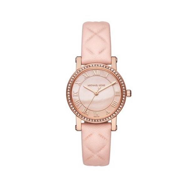"""マイケルコース Michael Kors レディース 腕時計 時計 Michael Kors Women""""s Quartz Stainless Steel and Leather Casual Watch, Color:Pink (Model: MK2683)"""