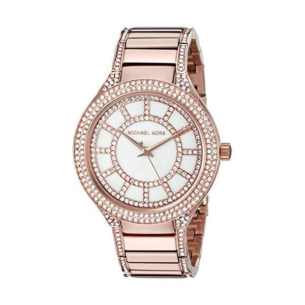 マイケルコース 時計 ウォッチ 腕時計 レディース 女性用 Michael Kors Women's Kerry Rose Gold-Tone Watch MK3313