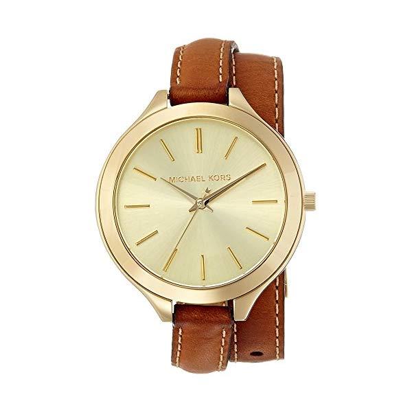 マイケルコース 時計 ウォッチ 腕時計 レディース 女性用 MK2256 Michael Kors Women's Runway Brown Watch MK2256