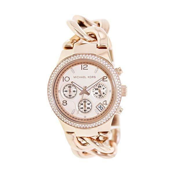 マイケルコース 時計 ウォッチ 腕時計 レディース 女性用 MK3247 Michael Kors Women's Runway Rose Gold-Tone Watch MK3247