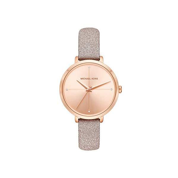 マイケルコース 時計 ウォッチ 腕時計 レディース 女性用 MK2794 Michael Kors Women's Charley Rose Gold Leather Watch MK2794