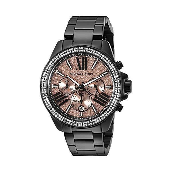 マイケルコース 時計 ウォッチ 腕時計 レディース 女性用 MK5879 Michael Kors Women's Wren Black Watch MK5879
