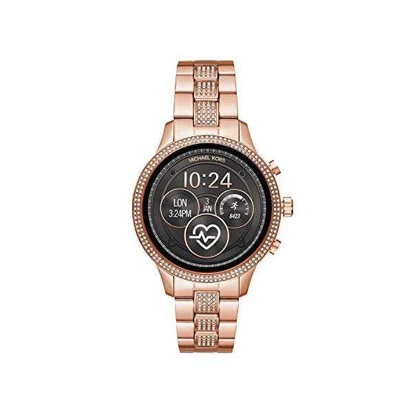 マイケルコース 時計 ウォッチ 腕時計 レディース 女性用 スマートウォッチ MKT5052Michael Kors Women's Access Runway Stainless Steel Plated Touchscreen Watch with Strap, Goldtone, 18 (Model: MKT5052)