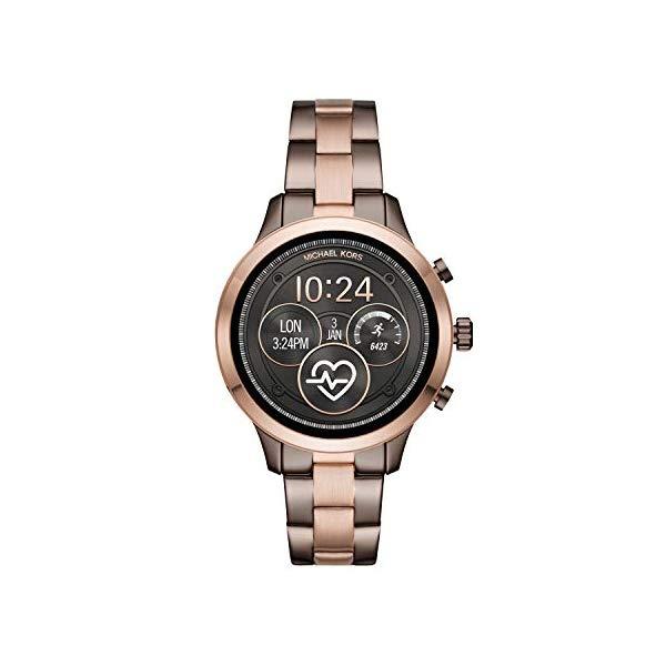 マイケルコース 時計 ウォッチ 腕時計 レディース 女性用 スマートウォッチ MKT5047 Michael Kors Women's Access Runway Stainless Steel Plated Touchscreen Watch with Strap, GoldToned, 18 (Model: MKT5047)