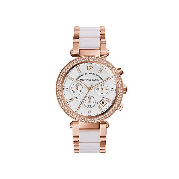 マイケルコース 時計 ウォッチ 腕時計 レディース 女性用 MK5774 Michael Kors Women's Parker Rose Gold-Tone Watch MK5774