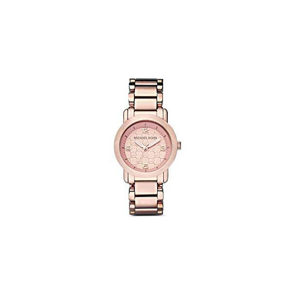 マイケルコース 時計 ウォッチ 腕時計 レディース 女性用 MK3159 Michael Kors Women's Outlet Three Hand Rose Gold Stainless Steel Watch MK3159