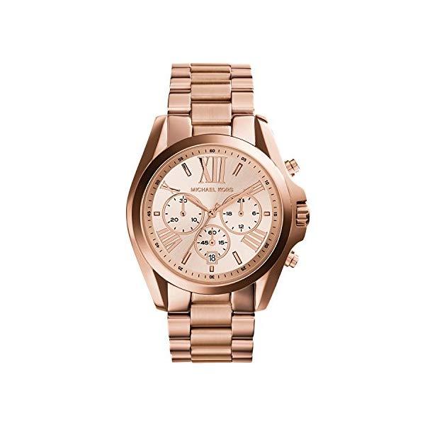 マイケルコース 時計 ウォッチ 腕時計 レディース 女性用 Michael Kors Bradshaw Women's Chronograph Wrist Watch 43MM