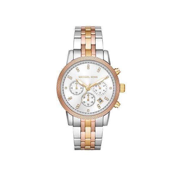 マイケルコース 時計 ウォッチ 腕時計 レディース 女性用 Michael Kors Women's Ritz Watch Silver