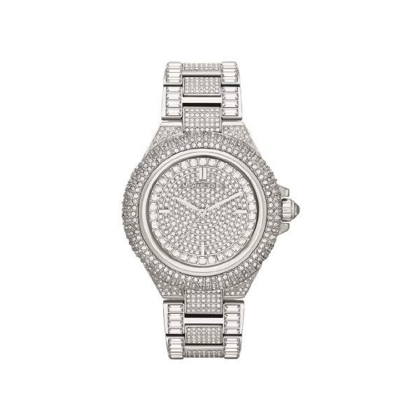 マイケルコース 時計 ウォッチ 腕時計 MK5869 Michael Kors Camile Crystal Pave Dial Crystal Encrusted Ladies Watch MK5869