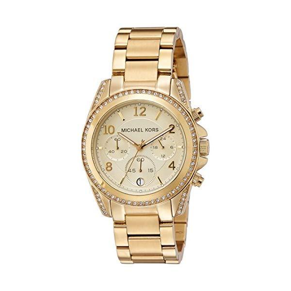 マイケルコース 時計 ウォッチ 腕時計 MK5166 Michael Kors Golden Runway Watch with Glitz MK5166