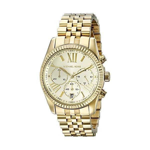マイケルコース 時計 ウォッチ 腕時計 レディース 女性用 MK5556 Michael Kors Women's Lexington Gold-Tone Watch MK5556